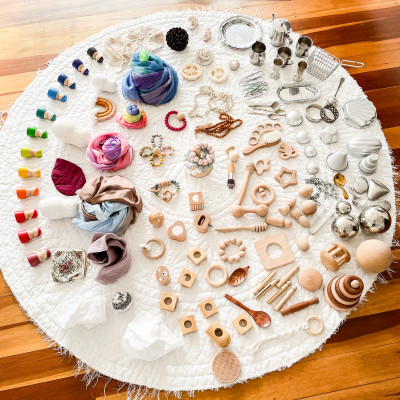 Open ended/heuristic play/ loose parts